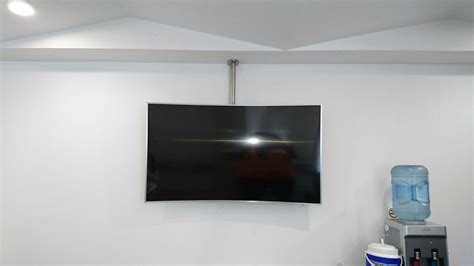 soporte techo tv soporte techo para tv en acero inoxidable base techo
