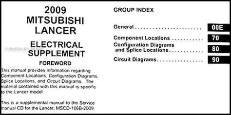 mitsubishi lancer wiring diagram pdf 2009 mitsubishi lancer wiring diagram manual original