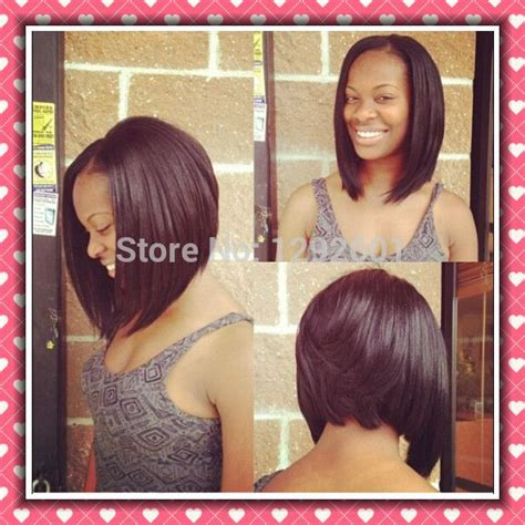 weave for inverted bob 12 quot angled bob lace wig aliexpress 110 hair