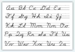 learn how to write in cursive scalien