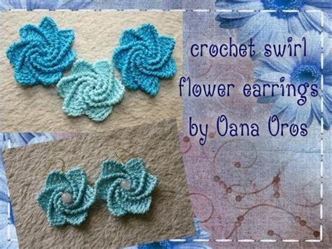 crocheted corkscrew tutorial youtube crochet spiral earrings youtube