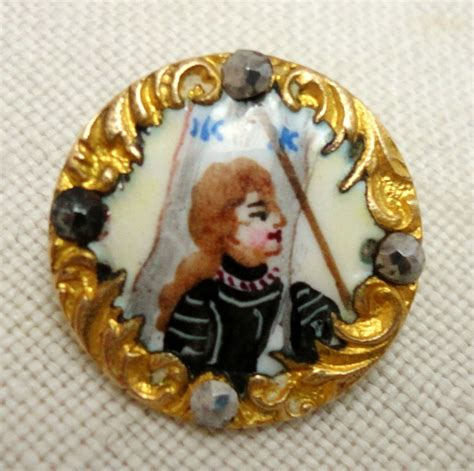 page boy cut joan of arc 122 best ceramic porcelain enameled buttons images on