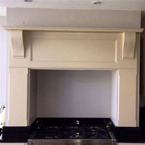 kitchen mantel ideas bespoke kitchen mantle surround for above a range cooker