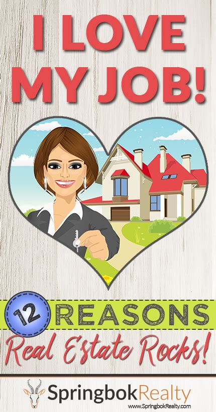 being a realtor a dozen reasons to being a realtor
