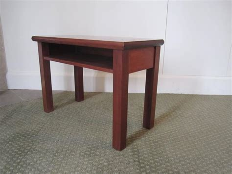 small side table with shelf small end or side table with shelf for sale at 1stdibs