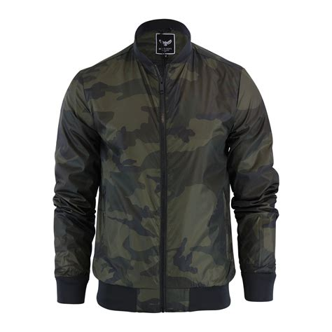 Seoul Blazer Jaket Coat mens jacket brave soul entwistle camo ma1 harrington bomber coat ebay