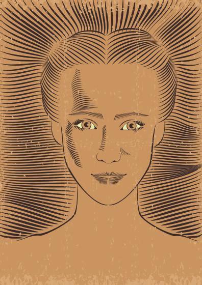 tutorial vektor art corel draw creating a retro portrait in coreldraw illustrator