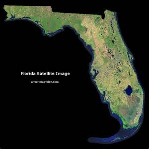 satellite florida map vote for andrew jackson