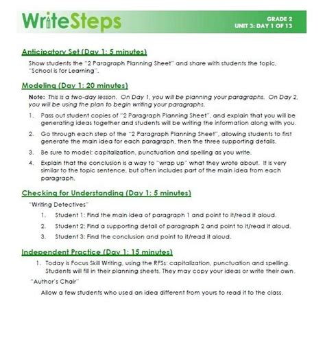 biography lesson plans grade 2 writing lessons for grade 2 writing lessons grade 2