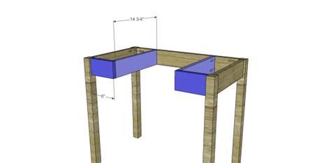 pdf plans bedroom vanity woodworking plans diy