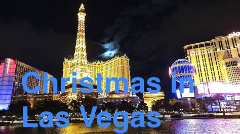 vegas attractions over christmas las vegas road trip day 1