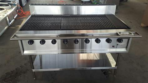 Oven Gas 150x55x70cm Plat Tebal 1 commercial large 9 burner gas bbq grill machine huizhou huaruicheng industry co ltd