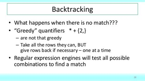 pattern matching greedy row pattern matching in oracle database 12c