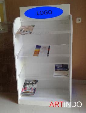 Rak Acrylic Display 6 rak buku rk o6 acrylic akrilik acrylic display harga