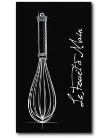 tableaux d ustensiles de cuisine tableau design cuisine