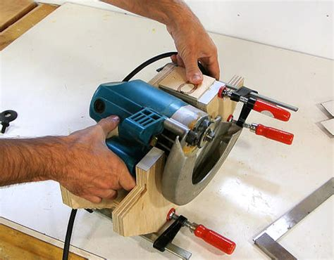 convert portable circular saw to table saw table saw from circular saw