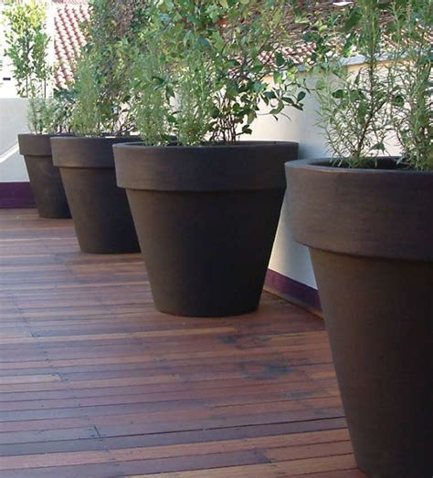 large planters for trees large outdoor planters the home and office garden for the larger specimen plants a 2m wide