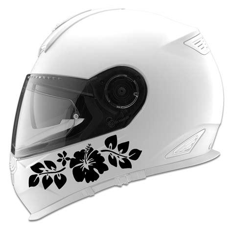 Auto Helmet Decals by Hawaiian Hibiscuis Flower Auto Car Racing Motorcycle