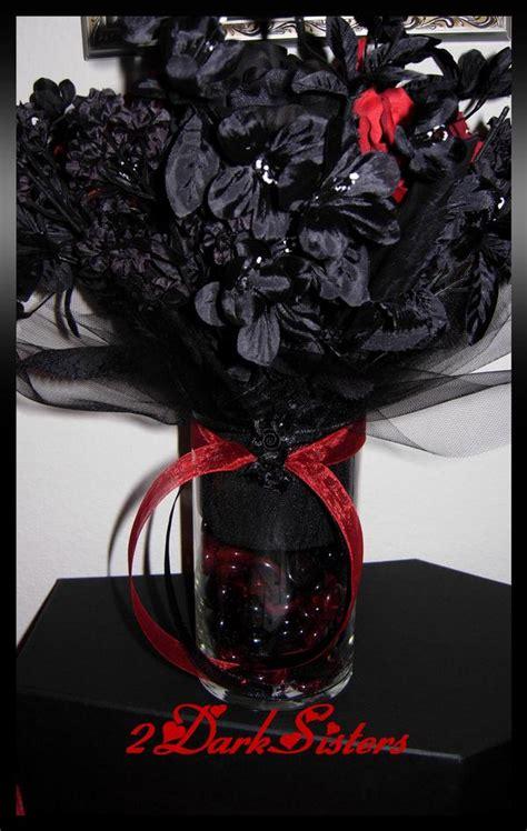 dinnissa s blog gothic centerpiece for wedding red