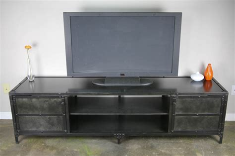 Reclaimed Wood Hutch And Buffet Combine 9 Industrial Furniture Steel Media Console