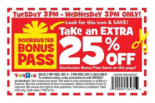 toys r us coupons usa