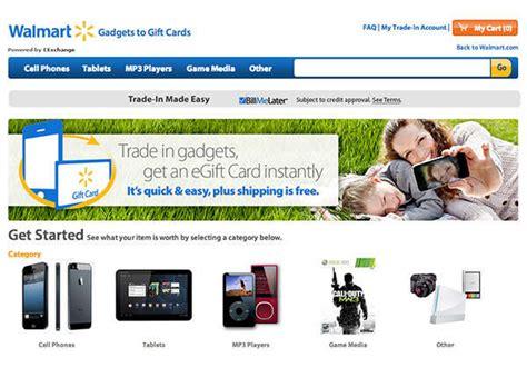 Walmart Gift Card Program - technology trade in programs walmart gadgets to gift cards program