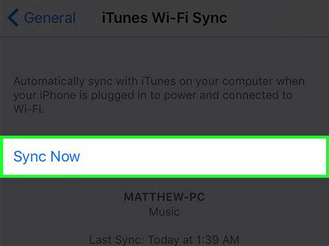 how to remove a computer from itunes wifi sync