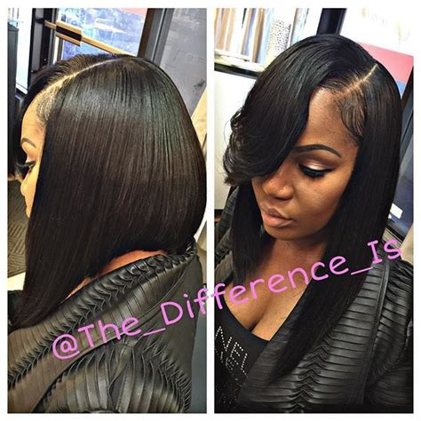 sew in long bob weave no leave image result for full bob sew in no leave out bobs