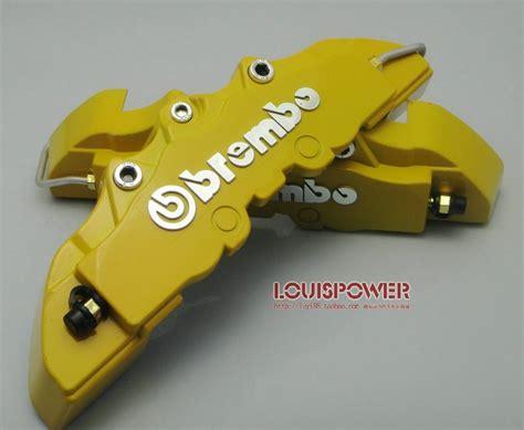 Brake Caliper Cover Rem Brembo Carbon Blue 4 Pot Medium model 3d brembo style disc brake caliper cover wholesale