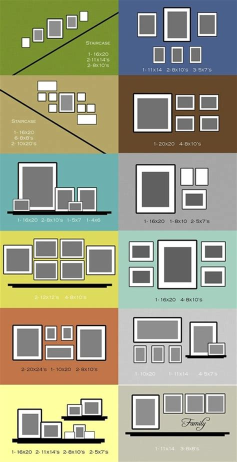 picture frame hanging ideas useful ideas and layouts to create a photo gallery wall