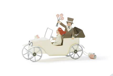 Hochzeit Auto by Brautpaar Hochzeitsauto Aus Blech Www Presentis De