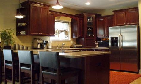 Kitchen U Shaped Kitchen Kitchen Peninsula Oven pictures