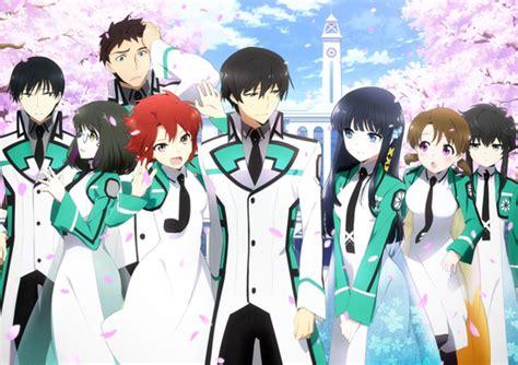 anime high school first look the irregular at magic high school the huge