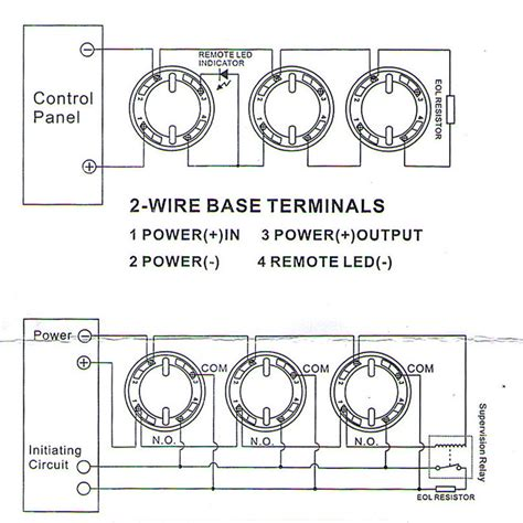 detector wiring diagram how to wire a smoke detector