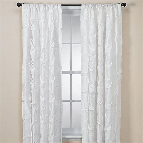 nicole miller curtains nicole miller 174 chateau 84 inch rod pocket panel in white