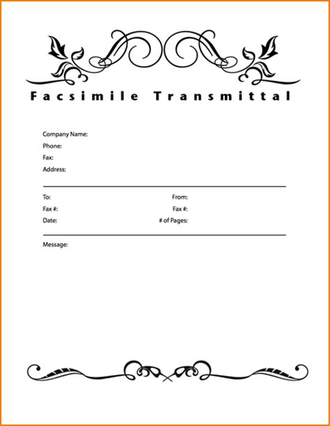 fax cover letter template word teknoswitch