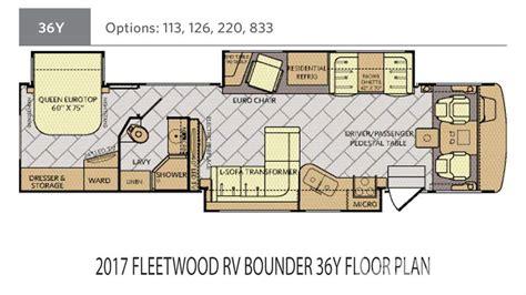 fleetwood rv floor plans fleetwood bounder rv floor plans gurus floor