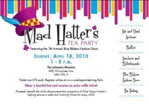 mad hatter tea invitations theruntime