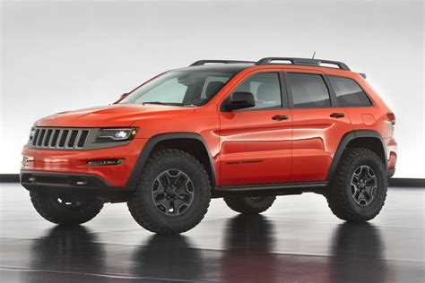 Jeep Grand Trailhawk Jeep Grand Trailhawk Ii Concept Front