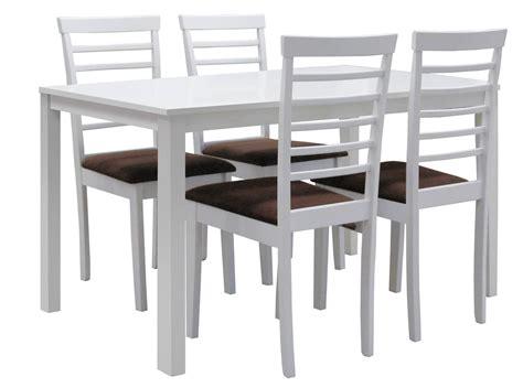 mesa comedor extensible blanca saloncomedor moderno