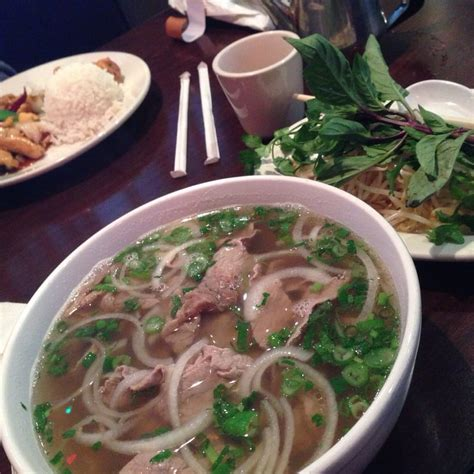 Pho With Rare Round Eye And Flank So Yummy Yelp Fortune Garden Rock