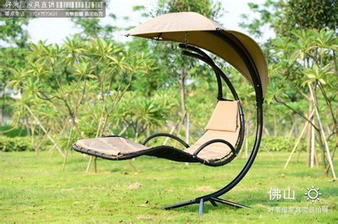 patio swing folds into bed foreign trade of the original single swing outdoor swing
