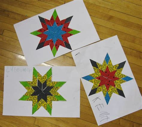 pattern not only but also kindergarten star quilts a good jumping off idea for not