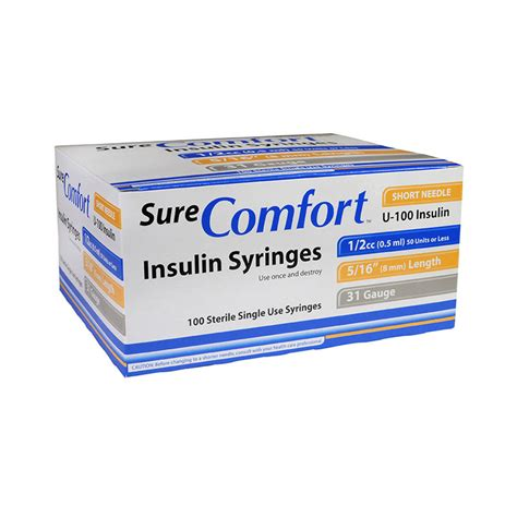 sure comfort syringes buy insulin syringes and insulin pen needles online