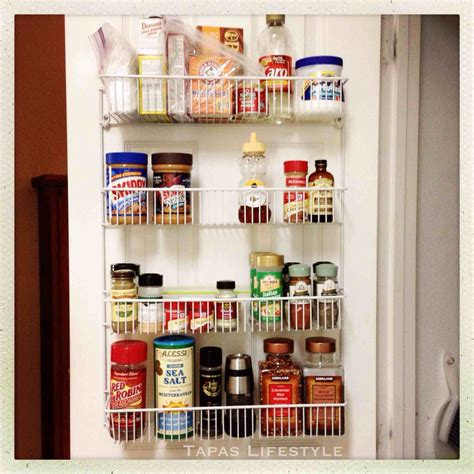 Door Pantry Storage Rack by 12 Week Organize Now Challenge Ford Berry