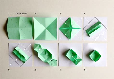How To Make Paper Box Origami - diy fruit veggie sted origami boxes handmade