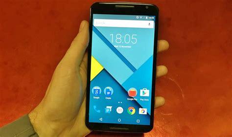 android nexus 6 android 5 1 lollipop rend le nexus 6 encore plus rapide