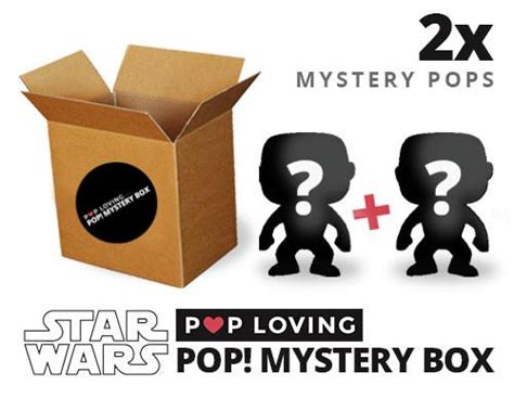 Mystery Box 1 pop loving s wars funko pop mystery box 1 in 10 grail