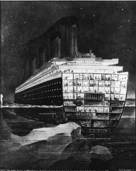 Titanic Section by Le Immagini D Epoca Titanic Foto 16 Di 27