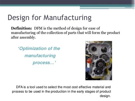 design fabrication meaning dfma design for manufacturing and assembly